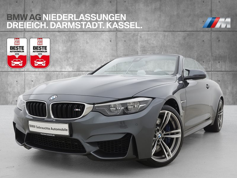 BMW M4 Cabrio M Drivers P. Head-Up HK HiFi DAB, Jahr 2017, Benzin
