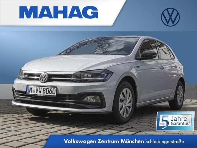 """Volkswagen Polo Highline 1.0 TSI ACC DAB+ LED Climatronic """"Blind Spot""""-Sensor 7-Gang-Doppelkupplungsgetriebe DSG, Jahr 2021, petrol"""
