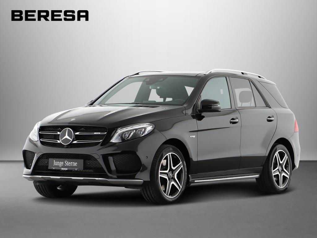 Mercedes-Benz GLE 43 AMG 4M AMG Distronic Airmatic Pano. 360°, Jahr 2016, petrol