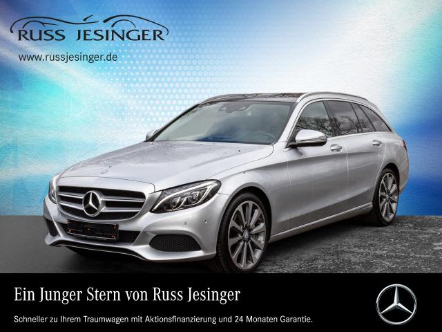 Mercedes-Benz C 250 d T AVANTGARDE + NAVI + PANO + MEMORY +LED, Jahr 2016, Diesel