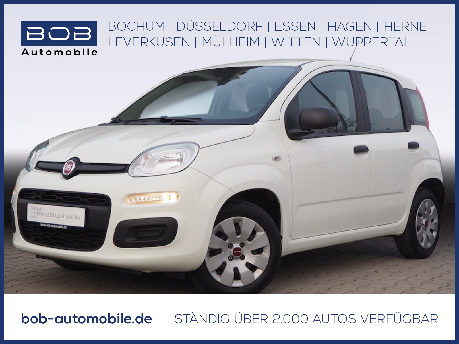Fiat Panda 1.2 MyStyle PDC KLIMA ZV, Jahr 2015, Benzin
