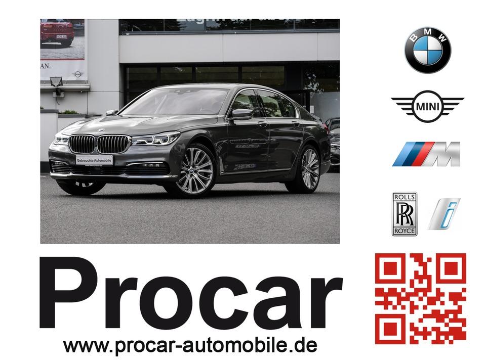 BMW 750i xDrive Navi Prof. Komfortsitze TV Standhzg., Jahr 2015, petrol