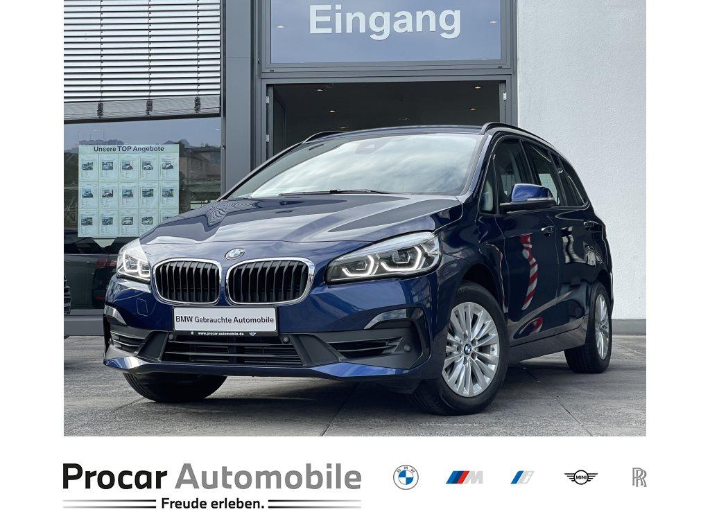 BMW 218i Gran Tourer Navi HiFi LED PA Sportsitze Shz, Jahr 2019, Benzin
