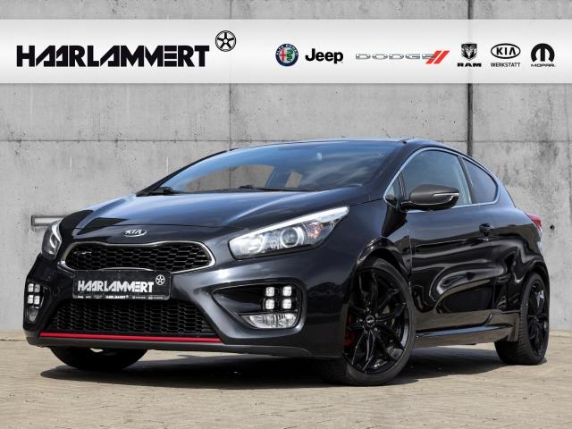 Kia Pro_cee'd GT-Challenge 1.6l+SPORT+NAVI+TEILLEDER, Jahr 2014, Benzin