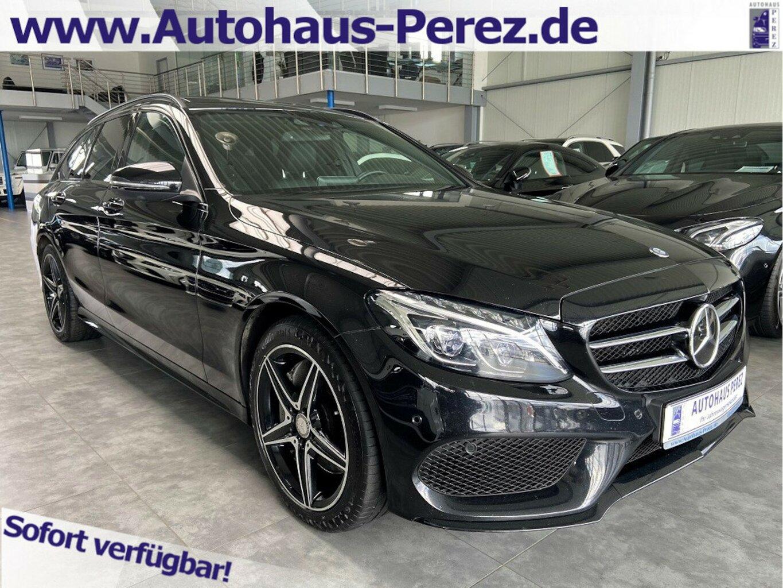Mercedes-Benz C 400 T 4M AMG AIRMATIC-DISTRONIC-PANORAMA-360°, Jahr 2016, Benzin