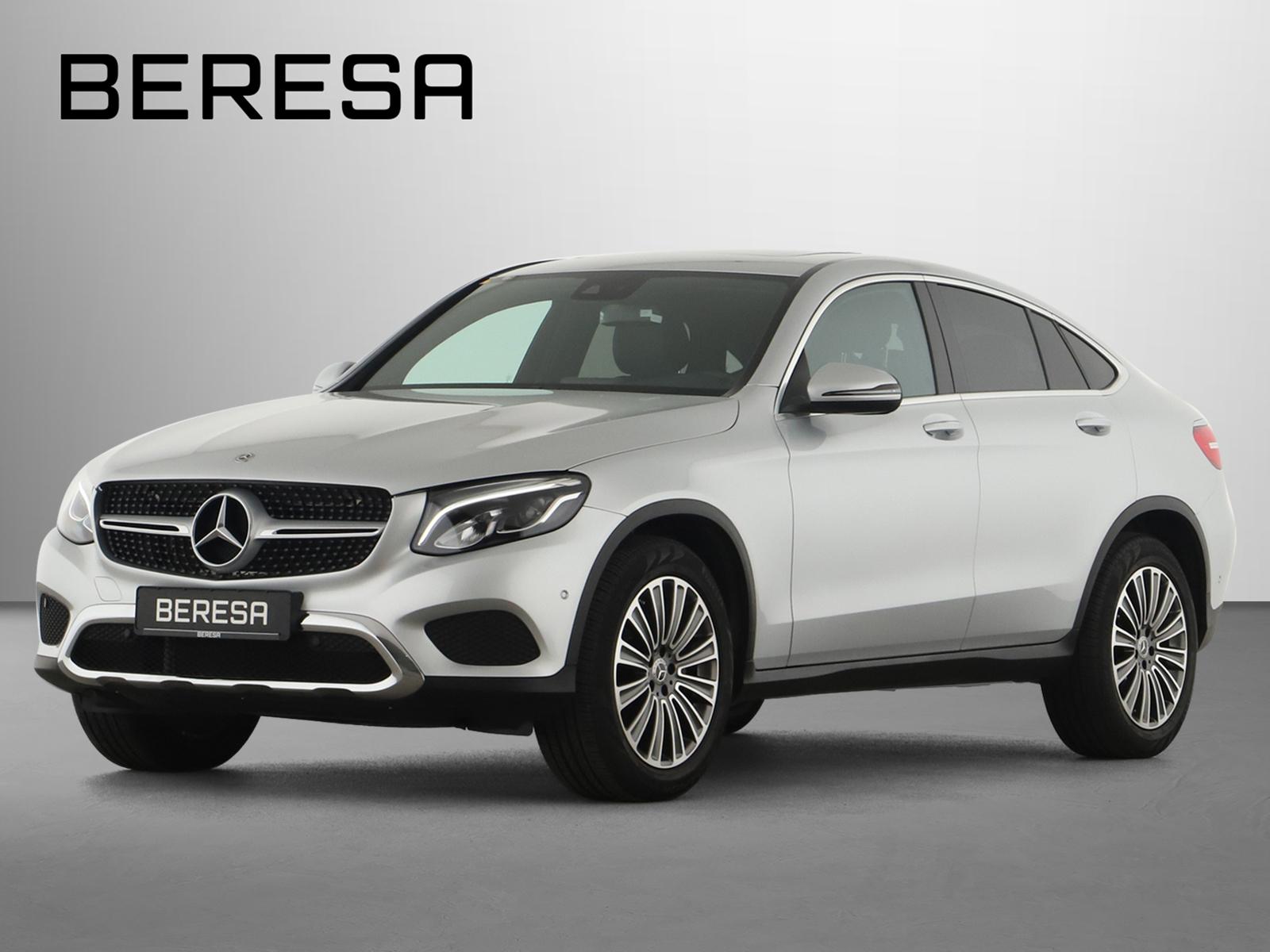 Mercedes-Benz GLC 250 4M LED Kamera Keyless Navi Schiebedach, Jahr 2018, Benzin