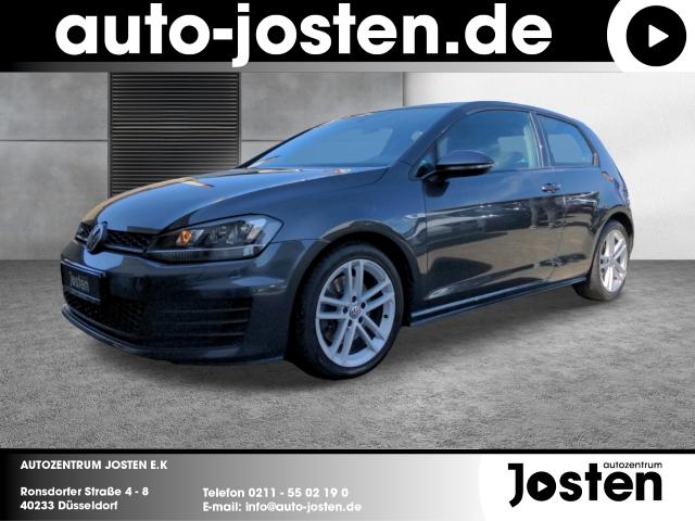 Volkswagen Golf VII GTD 2.0 TDI Navi PDCv+h Klimaautomatik, Jahr 2016, Diesel