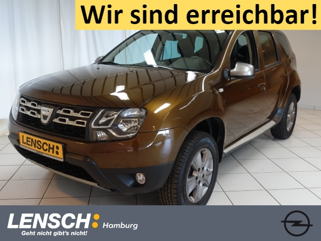 Dacia Duster 1.2 TCe 125 Prestige NAV+LEDER+AHK+BT+PDC, Jahr 2014, Benzin