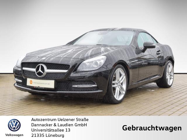 Mercedes-Benz SLK 200 BlueEFFICIENCY Alu Bi-Xenon Leder Navi PTS, Jahr 2014, petrol