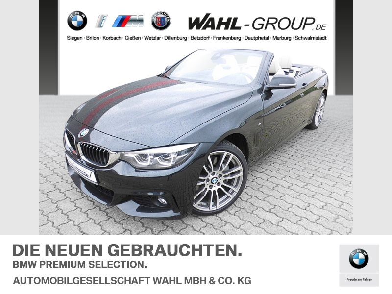 BMW 435d xDrive Cabrio M-Sport | EURO 6, Jahr 2017, Diesel