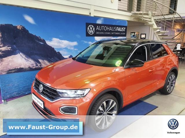 Volkswagen T-ROC United R-Line 4M DSG UPE 42000 EUR Navi LED, Jahr 2020, Diesel
