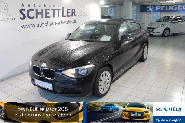 BMW 114i Klimaautomatik, Radio-CD,Ganzjahresreifen, Jahr 2012, petrol