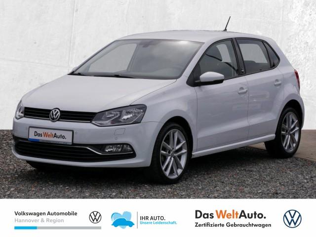 Volkswagen Polo 1.0 Sound Navi GRA Klima PDC Sitzheiz, Jahr 2017, Benzin
