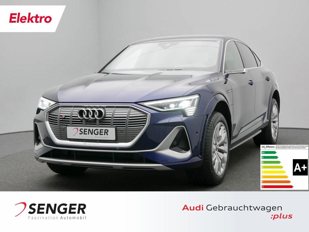 Audi e-tron S Sportback Quattro Leder Navi DAB LED, Jahr 2021, Elektro