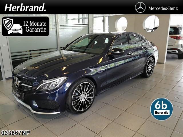 """Mercedes-Benz C 450 AMG /C43 4M *LED Comand Business-Plus 18""""*, Jahr 2015, petrol"""