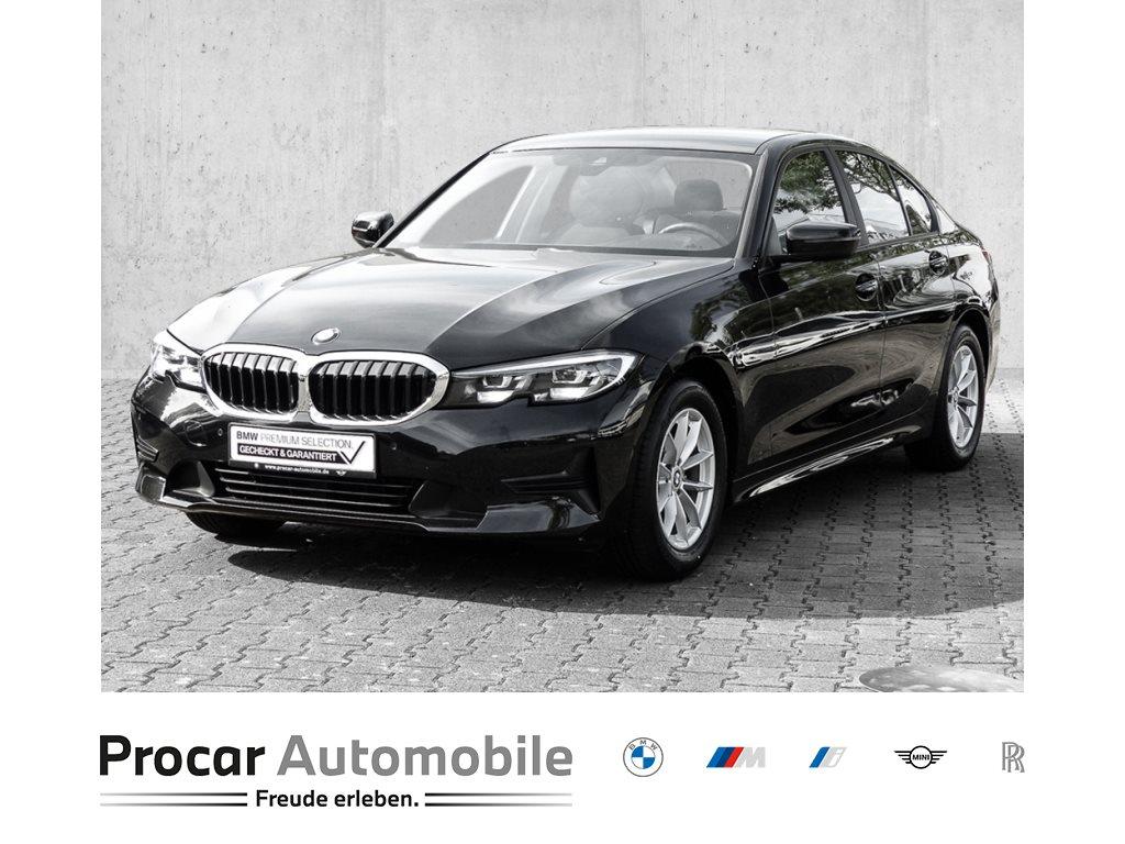 BMW 318d NAVI PLUS+AUTOMAT.+DRIVING ASSIST+KLIMAAUT.+PDC+ELEKT. SITZE+16 LMF+0,01% FINANZ, Jahr 2019, Diesel