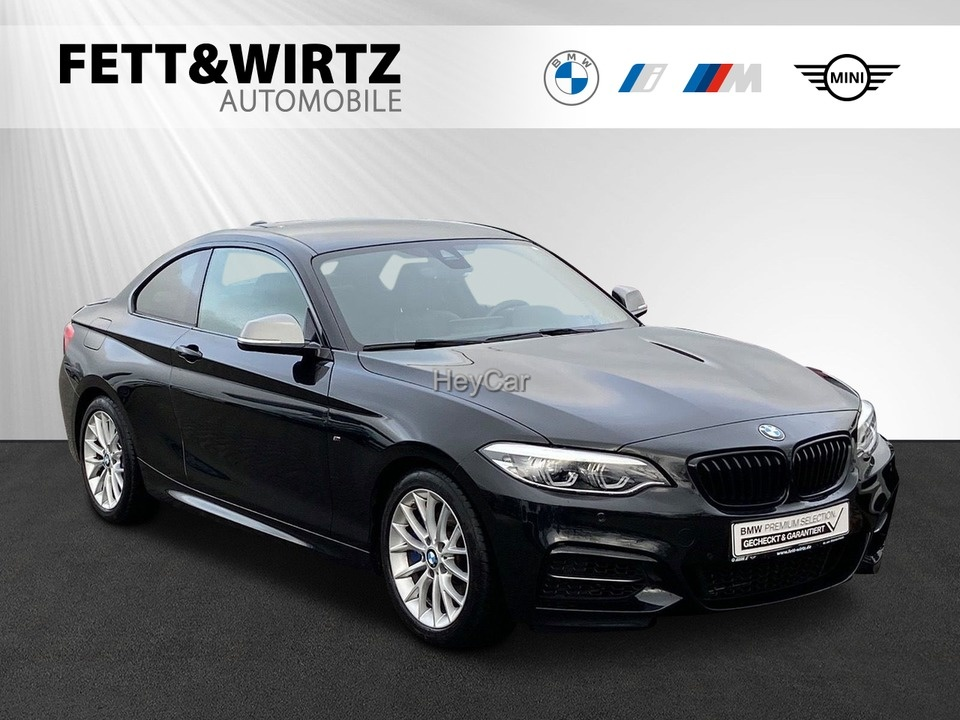 BMW M240i Coupe Aut. NaviProf. H/K DA LED RFK, Jahr 2018, Benzin