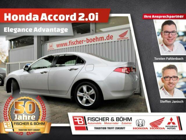 Honda Accord 2.0 Elegance Advantage - Sondermodell, Jahr 2014, petrol