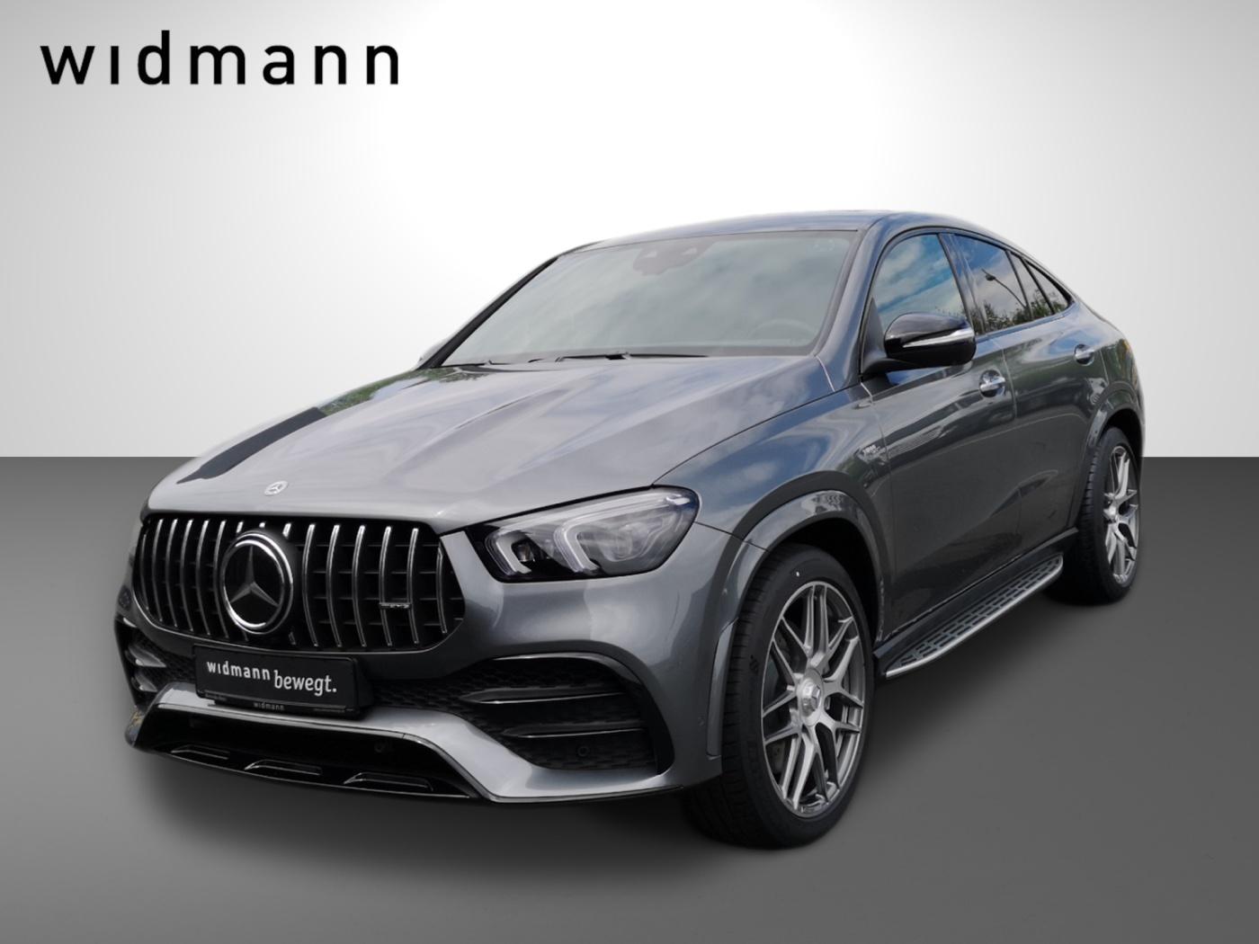 Mercedes-Benz GLE 53 4M+ Coupé EasyP*Burmester*Multibeam*Pano*, Jahr 2021, Benzin