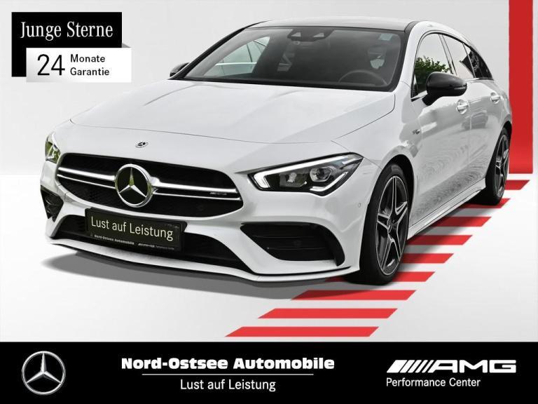 Mercedes-Benz AMG CLA 35 4M SB Navi LED Pano Dach Night Kamera, Jahr 2020, Benzin