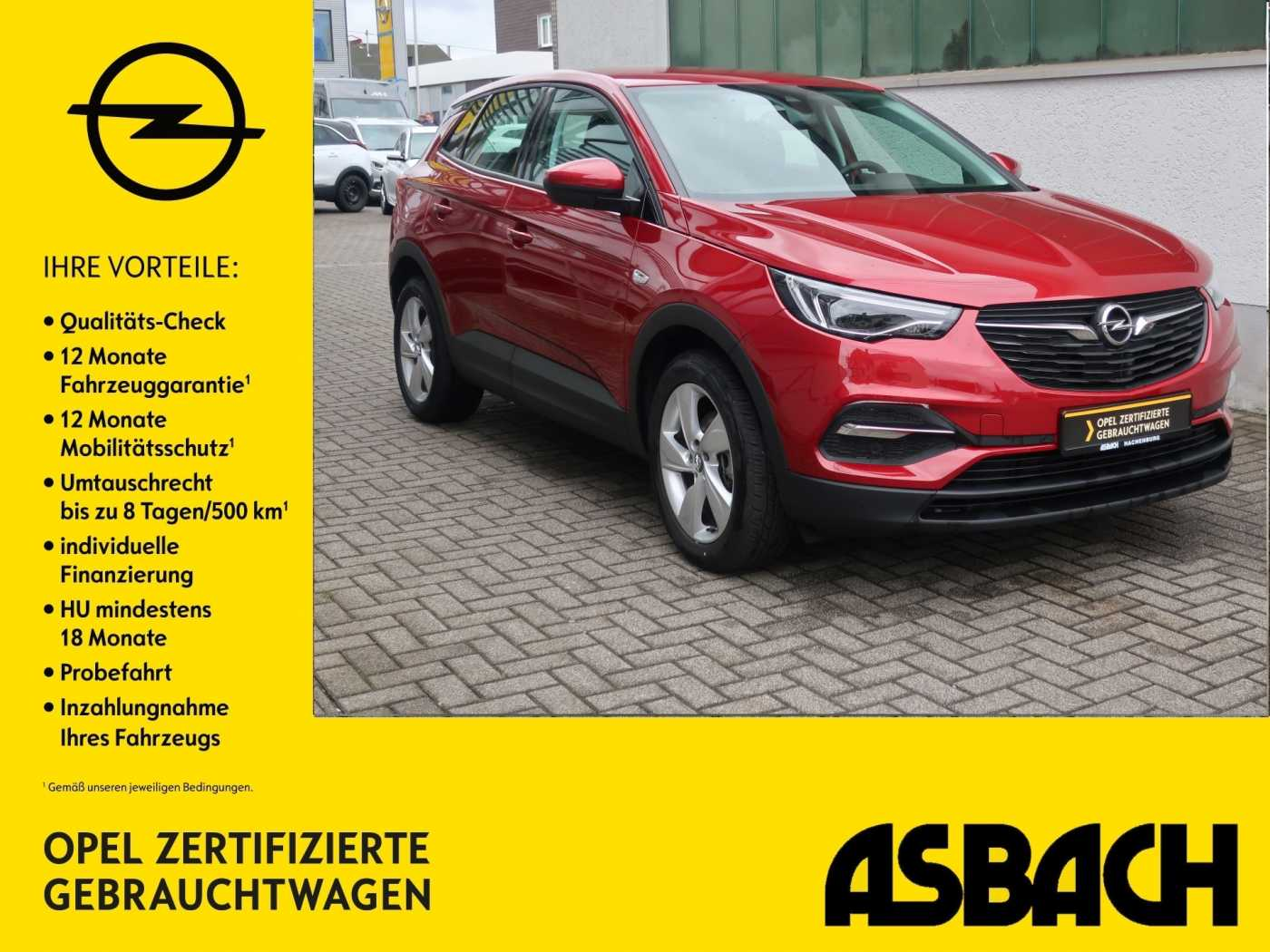 Opel Grandland X LED SHZ PDC, Jahr 2017, Diesel