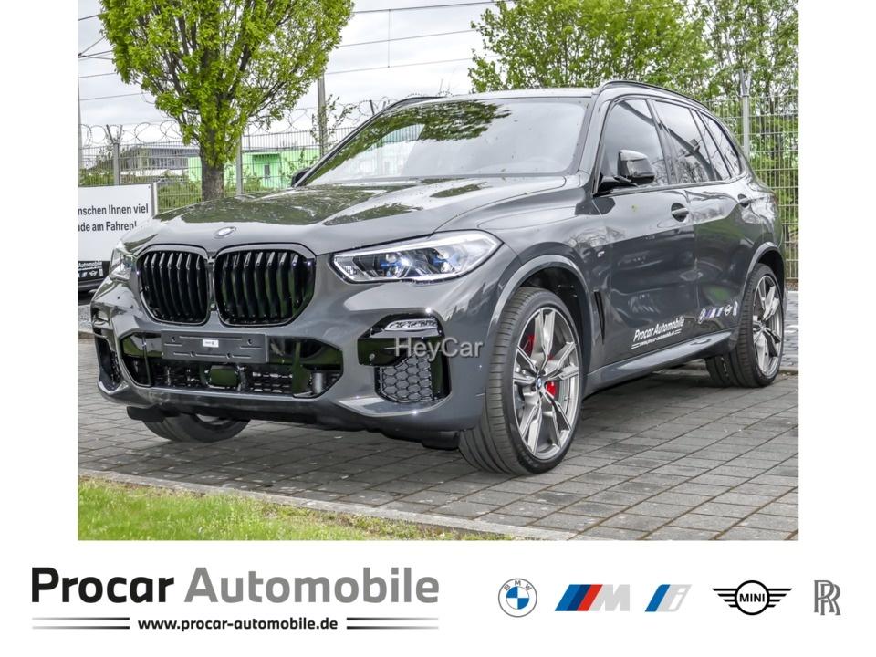 BMW X5 M50i Navi Leder Glasdach LED Scheinwerfer Bluetooth, Jahr 2021, Benzin