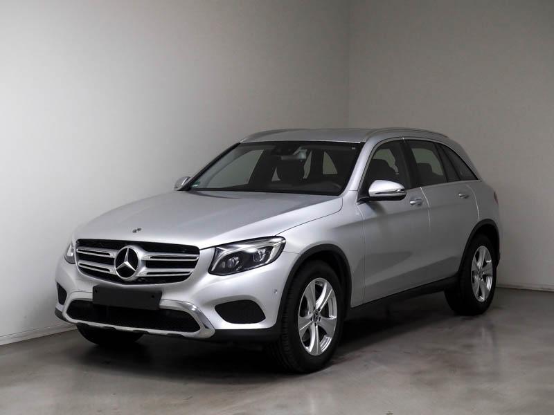 Mercedes-Benz GLC 300 4M Exclusive/Navi/ILS/Park-Assist/Keyl, Jahr 2018, Benzin