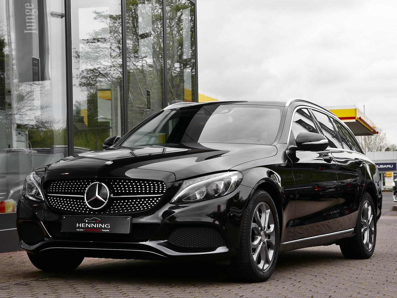 Mercedes-Benz C 250 T Avantgarde 7G Distronic+ Standhzg Comand, Jahr 2015, Diesel