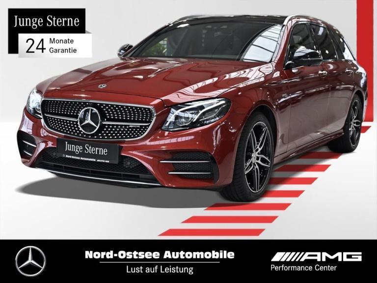Mercedes-Benz E 53 AMG T 4M Multibeam Pano Widescreen Comand, Jahr 2019, Benzin
