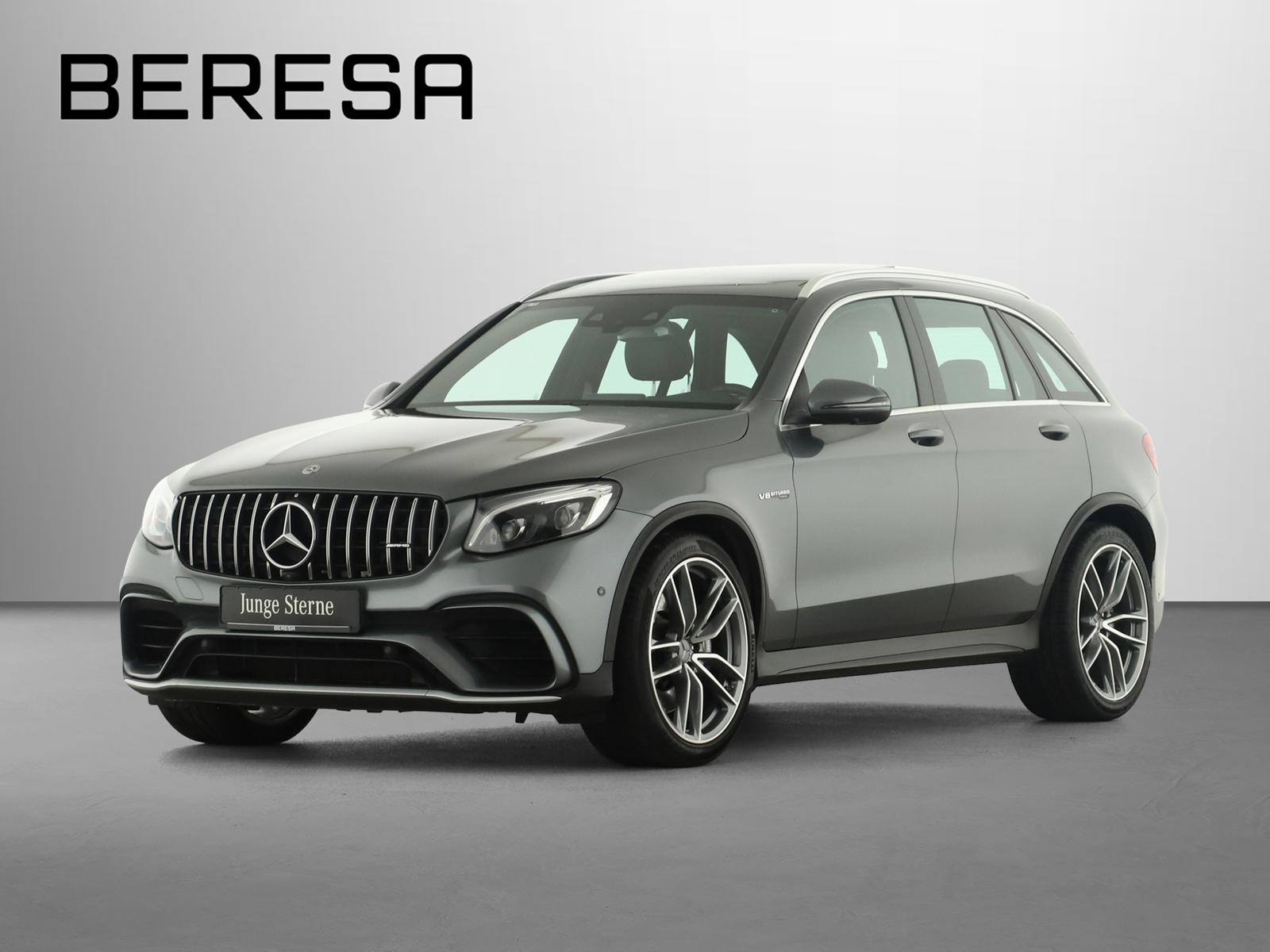 Mercedes-Benz GLC 63 AMG 4M+ Burmester Comand Pano.-Dach 360°, Jahr 2018, Benzin
