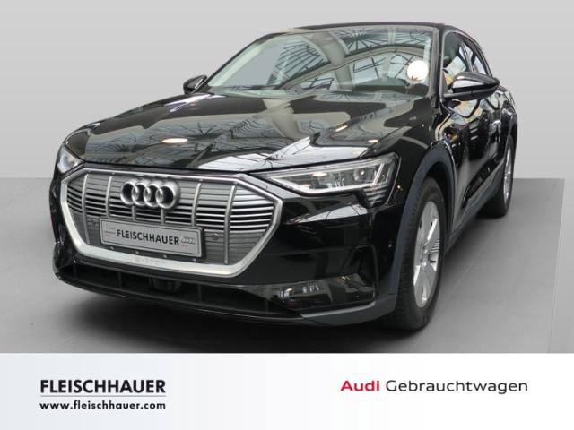 Audi e-tron 55 quattro NAVI+ACC+AHK+LED+Tour+PDC+19''+Luftfahrwerk, Jahr 2019, Elektro