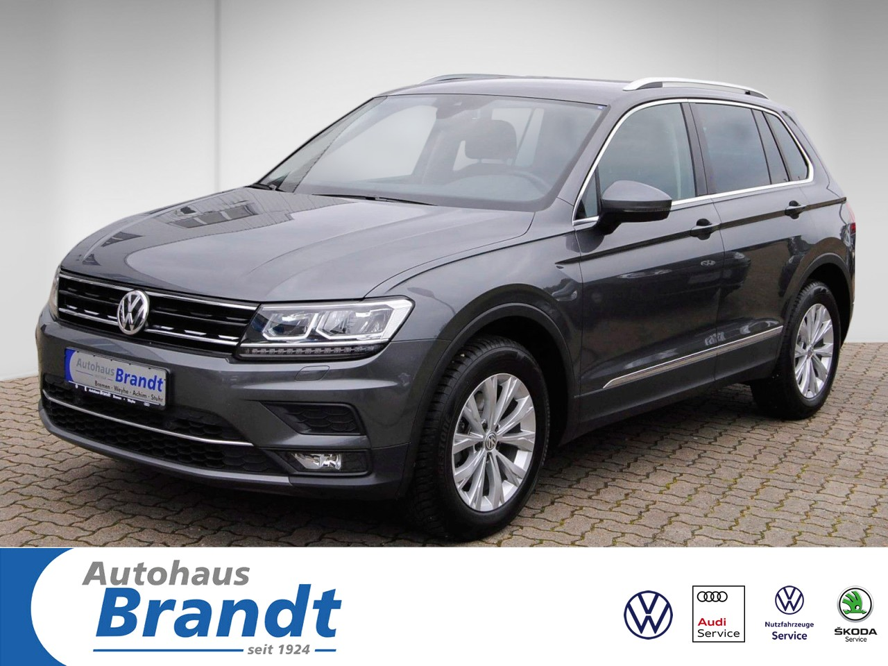 Volkswagen Tiguan 2.0 TDI Highline DSG *LED*NAVI*AHK*DYNAUDIO, Jahr 2018, Diesel