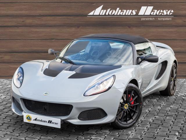 Lotus Elise Sport 220, Klima, Black Pack, Alcantara, Vortex grey, Jahr 2020, Benzin