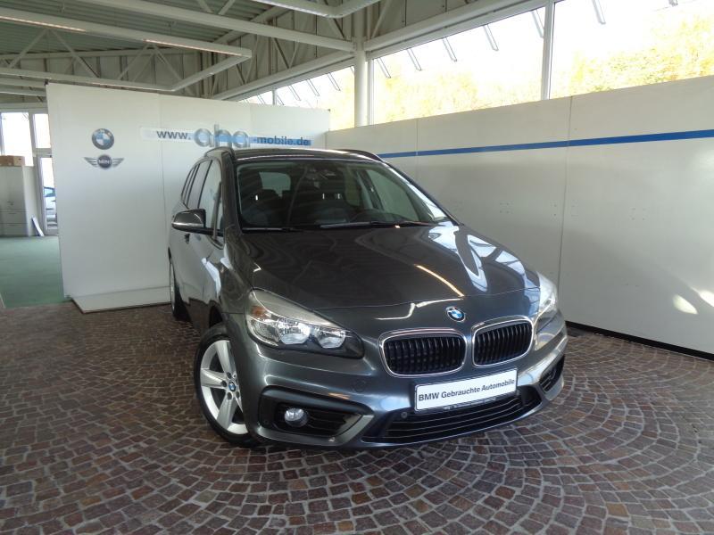 BMW 218d Gran Tourer Advantage Aut. Navi Klimaaut. PDC Tempomat, Jahr 2016, diesel