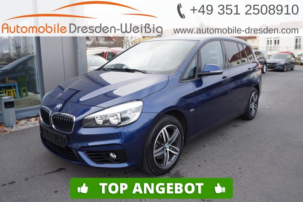 BMW 218 Gran Tourer d xDrive Sport Line*Navi Plus*, Jahr 2017, Diesel