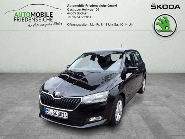 Skoda Fabia Style 1.0 TSI EU6d-T Keyless LED-Tagfahrlicht Multif.Lenkrad RDC Klimaautom SHZ, Jahr 2019, Benzin
