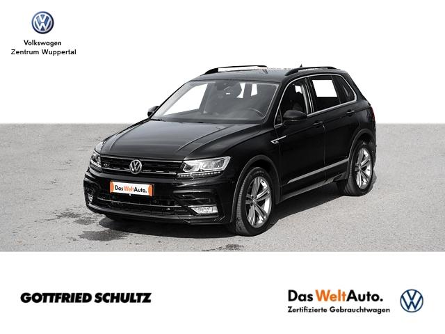 Volkswagen Tiguan 2 0 TDI R-LINE DSG 4M LED NAVI AHK SHZ PDC LM ZV, Jahr 2017, Diesel