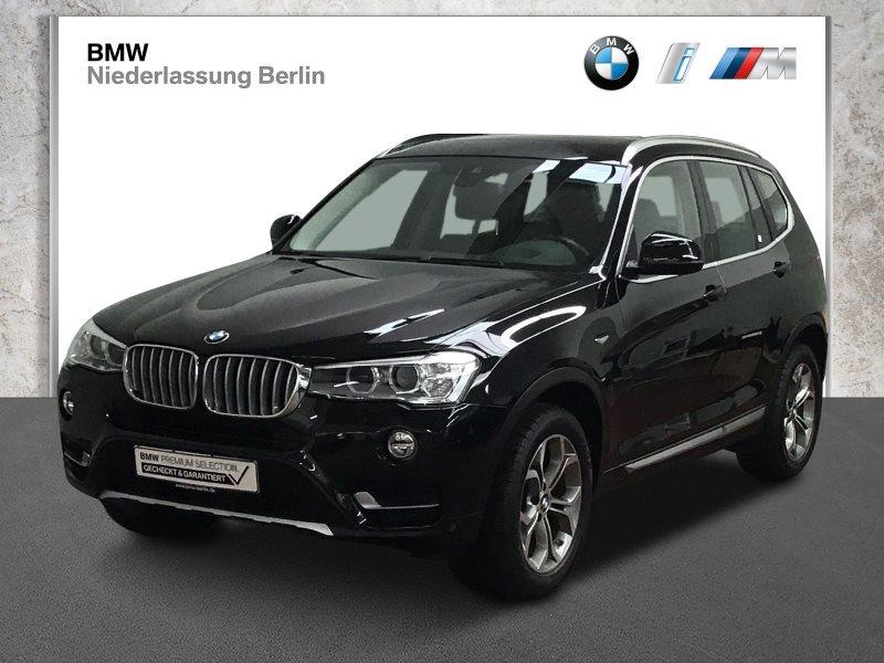BMW X3 xDrive20d EU6 Aut. Leder Xenon NaviProf. GSD, Jahr 2017, Diesel