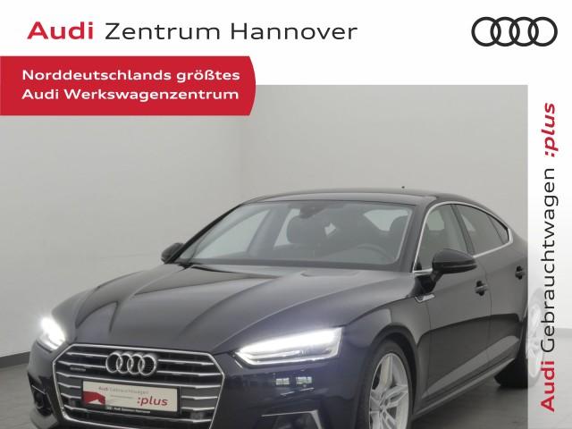 Audi A5 Sportback 2.0 TDI qu. sport, ACC, Keyless, Navi, Xenon, Jahr 2019, Diesel