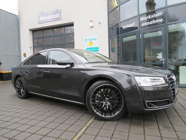 Audi A8 4.2 TDI quattro Selection 360°/HeadUp/Nachtsi, Jahr 2014, Diesel