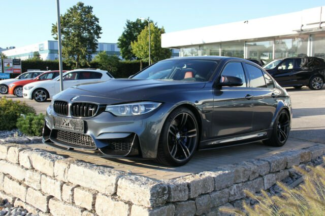 BMW M3 *PERFORMANCE *CARBON*K-Go*H&K*Head UP, Jahr 2017, petrol