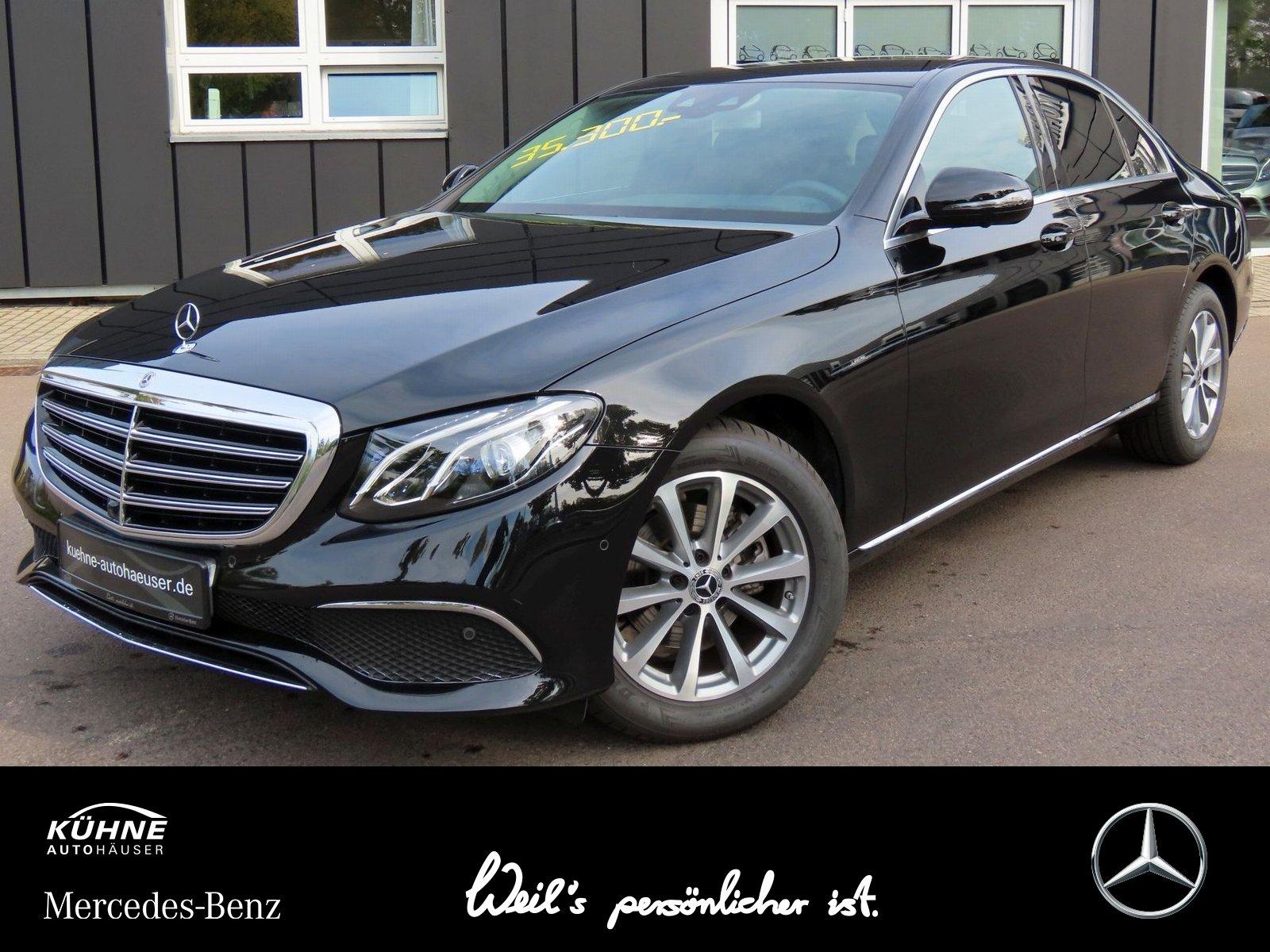 Mercedes-Benz E 200 Exclusive+HeadUp+Standheiz+360Kam+Business, Jahr 2019, Benzin