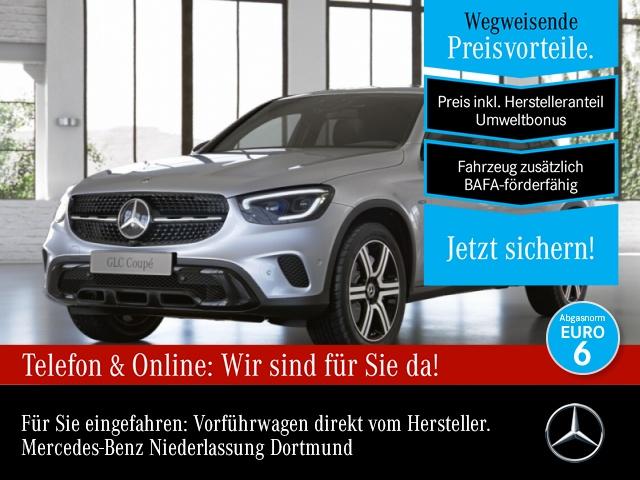 Mercedes-Benz GLC 300 de 4M Coupé Night+360+AHK+MultiBeam, Jahr 2021, Hybrid_Diesel