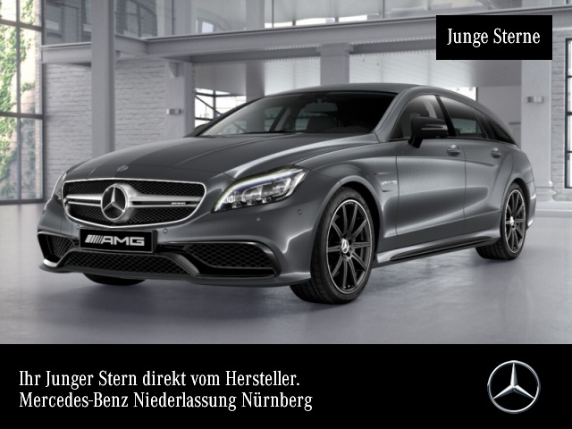Mercedes-Benz CLS 63 AMG 4Matic Shooting Brake Sportpaket Navi, Jahr 2016, Benzin