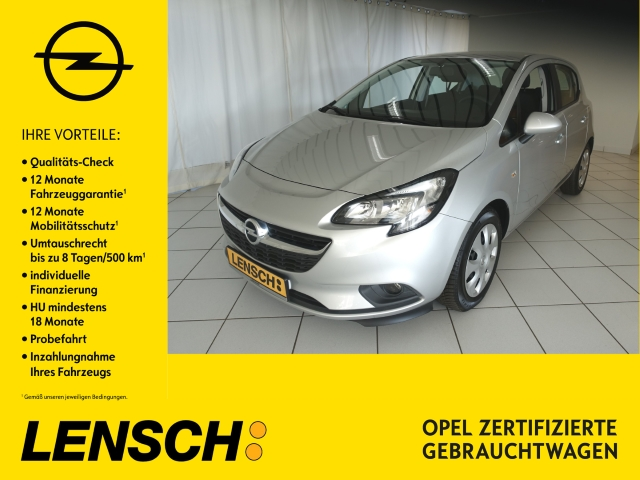 Opel Corsa E 1.0 Turbo 5T Edition SITZ+LENKRADHEIZUNG, Jahr 2018, Benzin