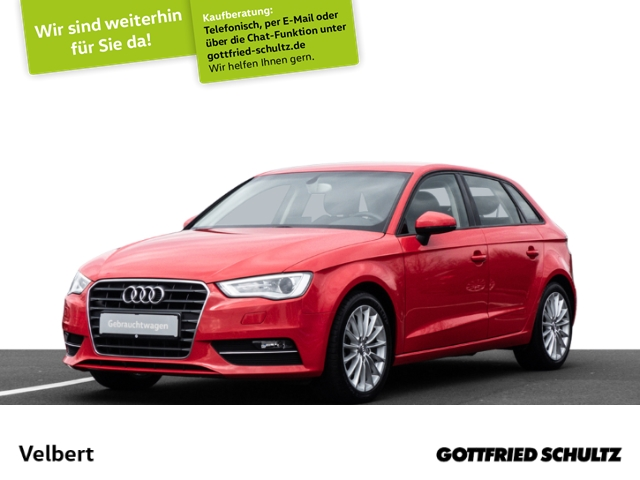 Audi A3 SPORTBACK 1.4 TSI AMBITION XENON PDC SHZ, Jahr 2013, Benzin