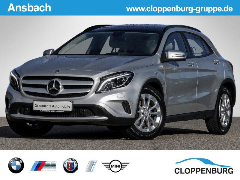 Mercedes-Benz GLA 250 7G-DCT Pano.Dach RFK Navi Tempomat BT, Jahr 2014, Benzin
