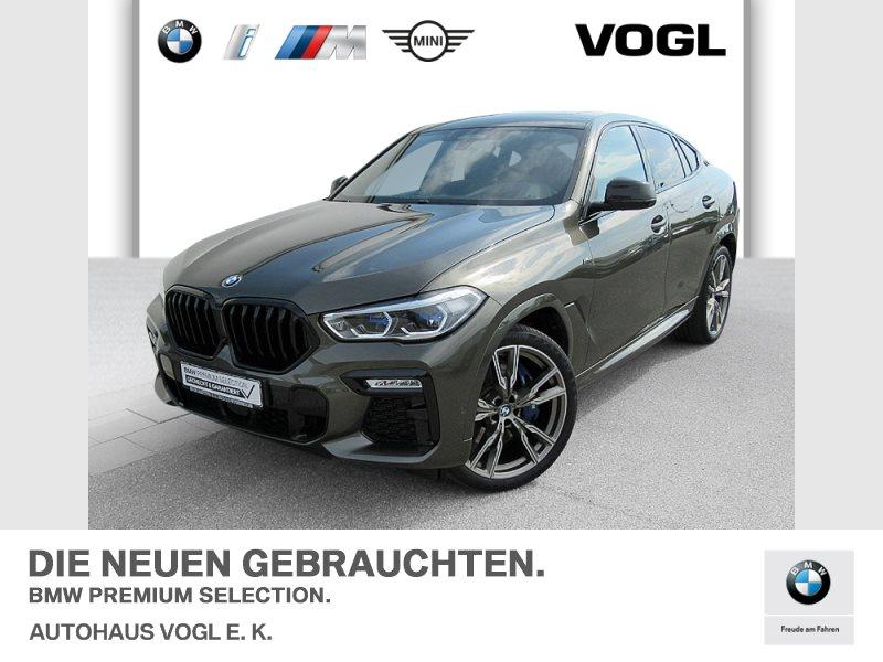 BMW X6 M50d NAVI, SHZ, AHK, Standhzg,, Head-Up,, Jahr 2019, Diesel