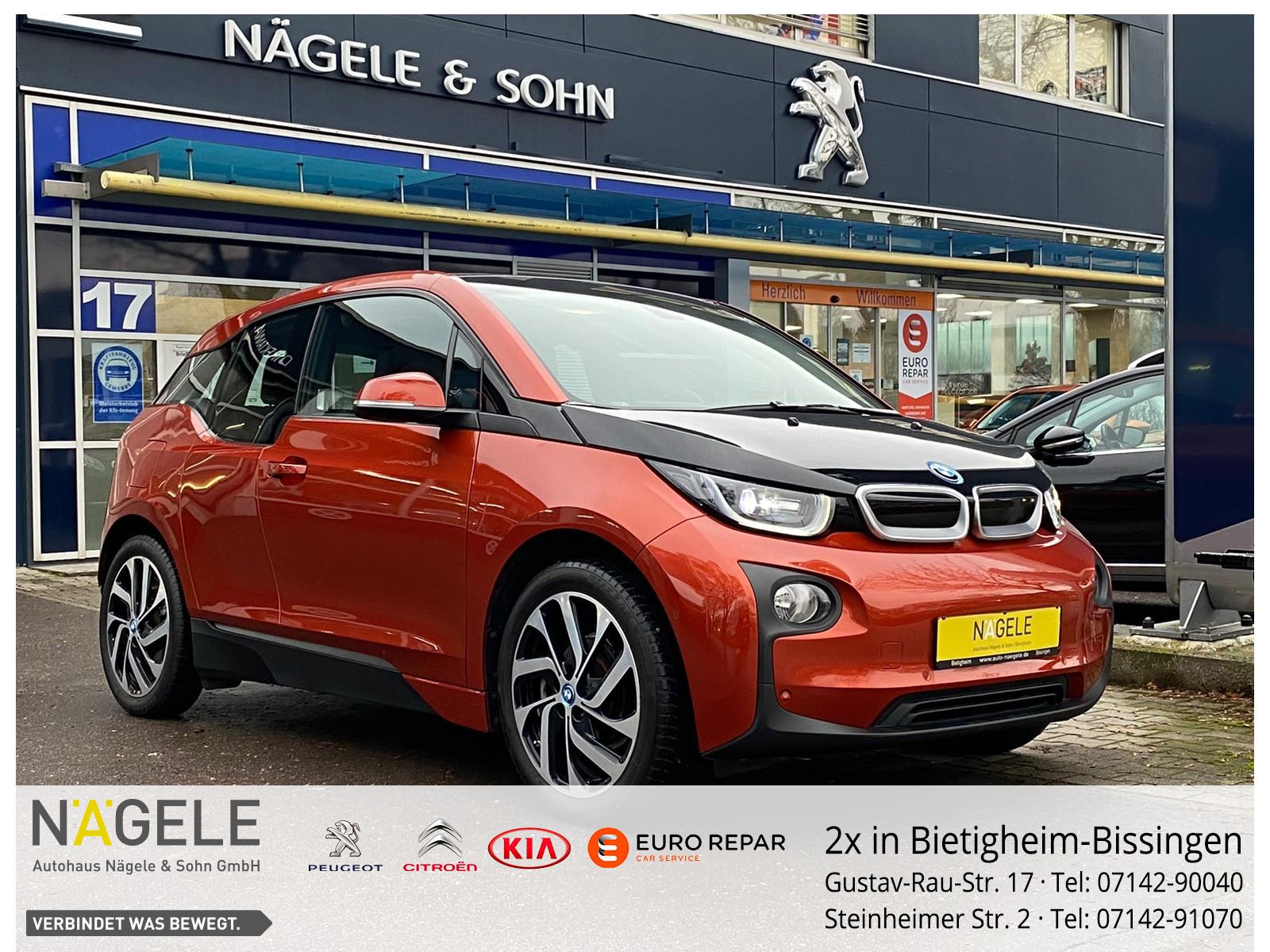 BMW i3 60Ah | VOLLAUSSTATTUNG | 8-Fach Alu |Garantie, Jahr 2013, Elektro