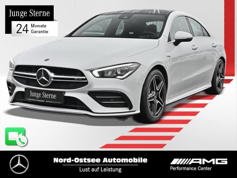 Mercedes-Benz CLA 35 AMG 4M Kamera 7G-DCT MBUX Pano Navi SHZ, Jahr 2020, Benzin